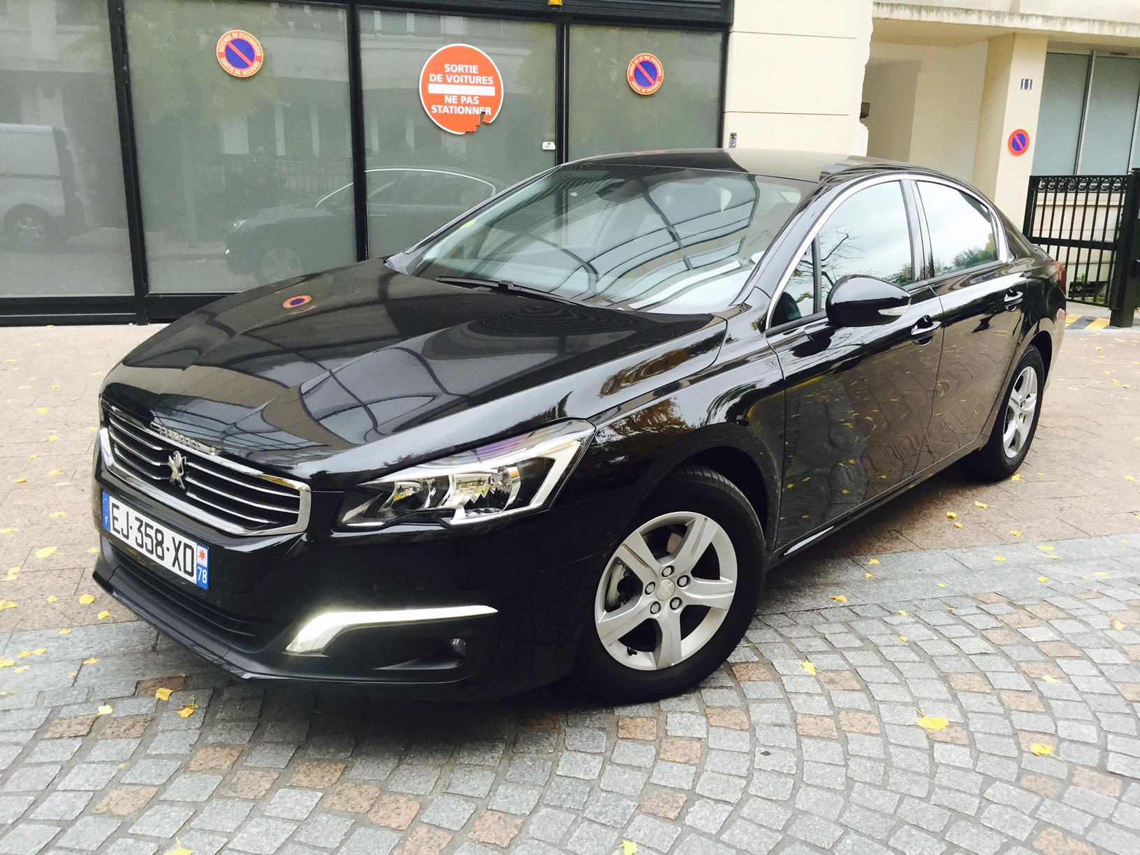 peugeot 508 active business eat6 2017 noir   voiture en