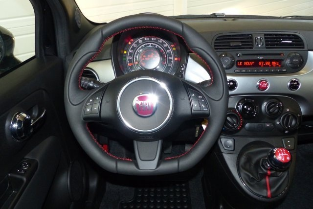 fiat 500 1 2 s noir voiture en leasing pas cher citycar paris. Black Bedroom Furniture Sets. Home Design Ideas