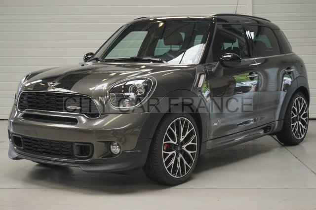 mini countryman john cooper works 218ch grise voiture en. Black Bedroom Furniture Sets. Home Design Ideas