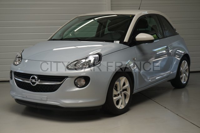 opel adam 1 4 twinsport 87ch blanche voiture en leasing pas cher citycar paris. Black Bedroom Furniture Sets. Home Design Ideas