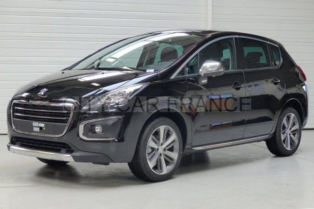 peugeot 3008 1 6 bluehdi noire voiture en leasing pas cher citycar paris. Black Bedroom Furniture Sets. Home Design Ideas