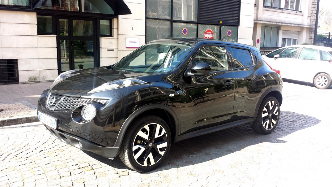nissan juke black edition 1 5 dci 110ch voiture en leasing pas cher citycar paris. Black Bedroom Furniture Sets. Home Design Ideas