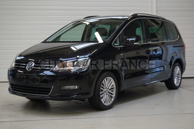 volkswagen sharan 2 0 tdi 140 fap bluemotion technology cup voiture en leasing pas cher. Black Bedroom Furniture Sets. Home Design Ideas