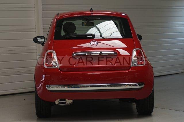 fiat 500 69ch lounge dualogic rouge voiture en leasing pas cher citycar paris. Black Bedroom Furniture Sets. Home Design Ideas