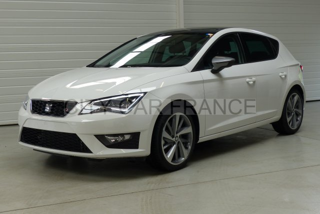 seat leon 1 8 tfsi 180 start stop blanc voiture en leasing pas cher citycar paris. Black Bedroom Furniture Sets. Home Design Ideas
