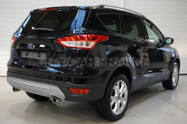 ford kuga tdci 150 s 4x4 titanium powershift a noire. Black Bedroom Furniture Sets. Home Design Ideas