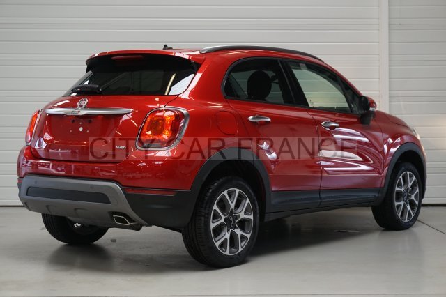 fiat 500x multijet 140ch 4x4 cross rouge   voiture en