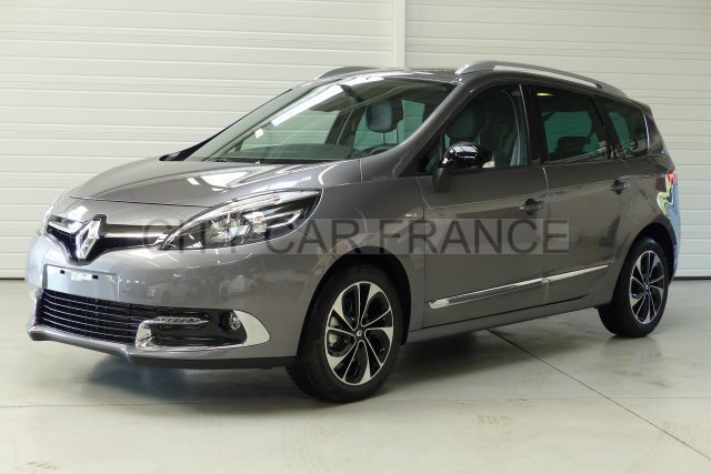 renault grand scenic iii dci 130 energy bose edition gris. Black Bedroom Furniture Sets. Home Design Ideas