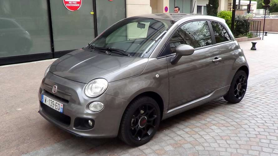 fiat 500 1 2 s gris voiture en leasing pas cher citycar paris. Black Bedroom Furniture Sets. Home Design Ideas