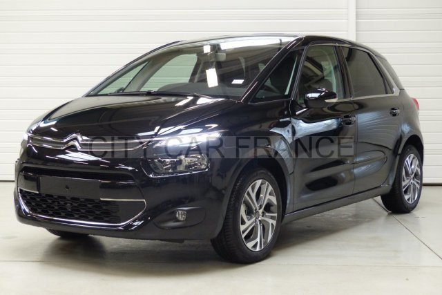 citroen c4 picasso e hdi 115 ch intensive noire voiture en leasing pas cher citycar paris. Black Bedroom Furniture Sets. Home Design Ideas
