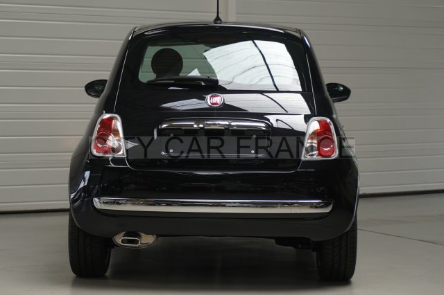 fiat 500 69ch lounge dualogic noire voiture en leasing. Black Bedroom Furniture Sets. Home Design Ideas