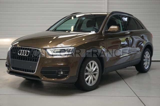 audi q3 quattro ambiente marron voiture en leasing pas cher citycar paris. Black Bedroom Furniture Sets. Home Design Ideas